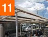 駐輪場屋根交換