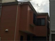 足立区O様邸 外壁塗装・クラック補修(ひび割れ)雨戸塗装・屋根塗装(スレート瓦)