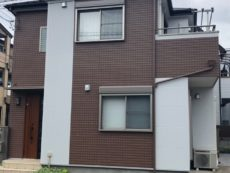 草加市S様邸 外壁、屋根塗装