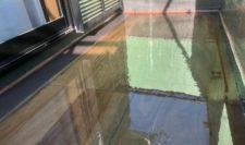 FRP防水 二層目