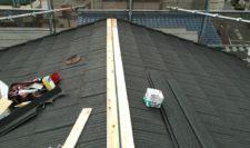 屋根材入れます