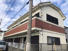 埼玉県 八潮市 T様 アパート 外壁塗装・笠木交換・ポスト交換