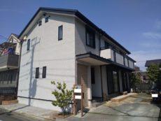 足立区 S様邸 外壁塗装(グラナートSP) 屋根カバー(ニチハ横暖ルーフS)