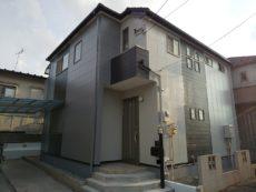 足立区 K様邸 外壁塗装 屋根カバー工法