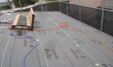 屋根カバー工法(防水シート施工)