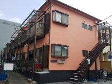 江戸川区Gハイツ 外壁塗装工事・屋根葺き替え(瓦撤去)工事