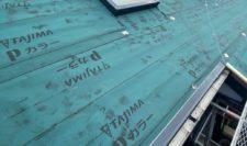 屋根カバー工事③