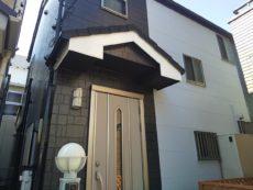 足立区 K様邸 外壁塗装工事・屋根カバー工事
