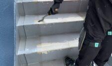 階段防水⑩