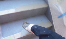 階段防水②