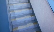 階段防水③