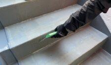 階段防水⑫