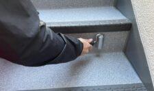 階段防水⑬