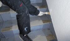 階段防水⑤