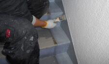 階段防水⑥