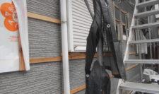 外壁カバー工法③