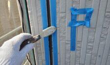 外壁シーリング施工写真