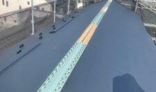 屋根カバー施工写真④