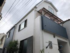 足立区F様邸 外壁塗装・屋根カバー工事