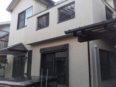 葛飾区 K様邸 外壁塗装・屋根カバー工事