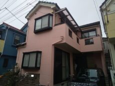 足立区 H様邸 外壁塗装・屋根塗装・ベランダ防水工事
