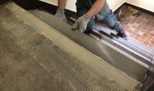 階段防水施工⑥