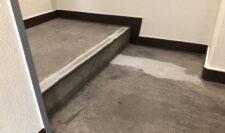 階段防水施工③