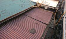 屋根葺き替え施工③