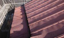 屋根葺き替え施工②
