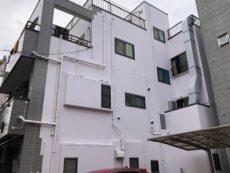 墨田区 T様ビル  外壁塗装・屋上防水・タイル貼替工事